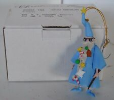 Vintage Disney Grolier Ornament Merlin Christmas in Box