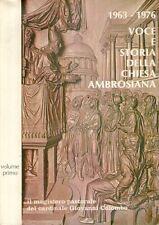 F30 Voce e storia della Chiesa Ambrosiana Vol. I 1963 - 1976