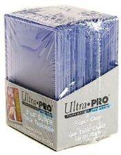 (Pack of 25) Ultra Pro Super Thick 75pt Toploader Card Holders Thick Jersey Card