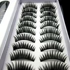 10 pairs beautiful high grade of dense eyelashes false eyelash free shipping