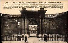 CPA Paris 3e Paris-Rue des Francs-Bourgeois, Palais des Archives Nat. (314108)