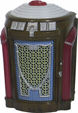 JUKEBOX MINIATURE SEEBURG 147M SIMPHONOLA TRASH CAN (1947) LIGHTS AND PLAYS