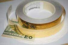 ╬ NASA SURPLUS ╬ 24K GOLD CONDUCTIVE TAPE ╬ SHELDAHL metal element sample scotch