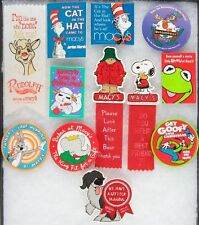 12 PC LOT MACY'S EMPLOYEE ONLY PROMOTIONAL ITEMS FEATURING CHARACTERS.