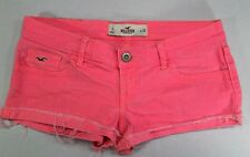 Hollister Denim Neon Pink 5-pocket Shorts (SP01) ~ 3  26 ~ Nice!