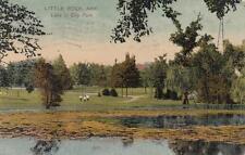 Antique POSTCARD c1907 Lake in City Park LITTLE ROCK, AR ARKANSAS 18884