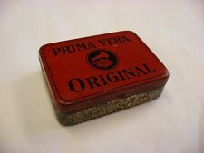 Phonograph Victrola Gramophone Needle Tin - Prima Vera Red Needles - Empty
