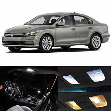 15x White Interior LED Lights Package Kit for 2012-2014 Volkswagen Passat B7 VW