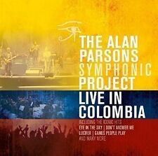 THE ALAN PARSONS SYMPHONIC PROJECT - LIVE IN COLOMBIA  2 CD NEU
