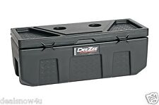 Poly Plastic Storage Chest Truck Tool Box Bed SUV Trunk Pickup Organize Secure