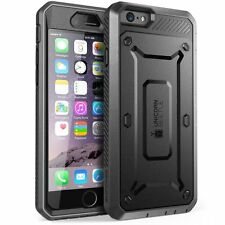 "New !! SUPCASE iPhone 6S / 6 (4.7"") Case - (UBPro) Rugged Holster Cover - Black"