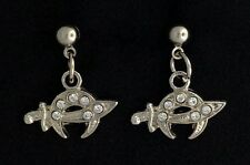 Masonic Shrine Ladies Pierced Earrings (SE-1)