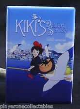 "Kiki's Delivery Service Movie Poster 2"" X 3"" Fridge Magnet. Japanese Anime"