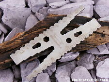 EDC STAINLESS STEEL SURVIVAL POCKET TOOL BUSHCRAFT CAMPING SURVIVAL PARACORD