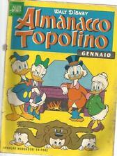 ALMANACCO TOPOLINO 1 GENNAIO 1962