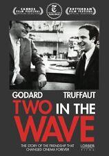 TWO IN THE WAVE NEW SEALED REGION 0 DVD W.S.  GODARD TRUFFAUT  FREE SHIPPING