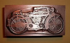 "USA ""INDIAN MOTORCYCLE"" Printing Block"