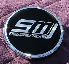 SM SPORT MUSCLE   WHEEL CENTER CAP LG1106-19 141-NEW-CAP