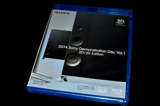 Sony 4K Ultra HD & 3D Demo Blu Ray Disc 2014 (DTS 5.1/2.0) Ok w/Samsung,LG,Vizio