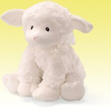 NEW BABY GUND JESUS LOVES ME KEYWIND MUSICAL LAMB, BABY SHOWER