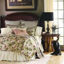 Luxury Ralph Lauren YORKSHIRE ROSE KING DUVET Comforter Cover