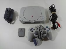Sony PlayStation 1 PSone Bundle Slim Console PS1 SCPH-101 Tested Working
