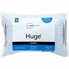 HUGE Pillow Comfort Standard and Queen Size Pillows White Neck Machine Washable