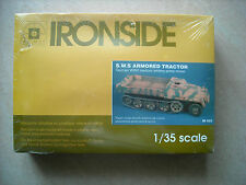 IRONSIDE-1/35- #IR023- S.W.S. ARMORED TRACTOR/GERMAN PRIME MOVER- ARTILLERY