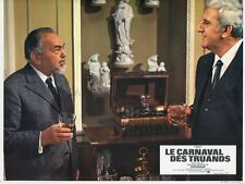 EDWARD G. ROBINSON ADOLFO CELI LE CARNAVAL DES TRUANDS 1967 LOBBY CARD #3