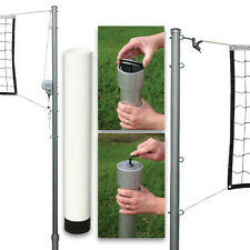Outdoor Volleyball Set 2 (Steel Top Cable Net/Steel Ground Sleeves/With Cap)