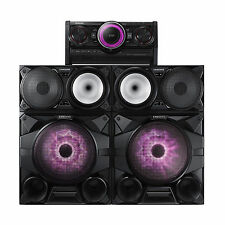 "NEW Samsung MX-HS7000 2300W Giga Sound System 12"" Woofers Bluetooth CD USB"