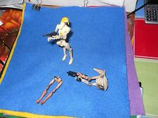 STAR WARS TOY BATTLE DROIDS ACTION FIGURES  WEPONS MIXED LOT HASBRO CAKE TOPPER