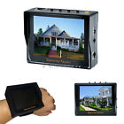 3.5 inch TFT LCD Video Audio Security Tester CCTV Camera Test Portable Monitor