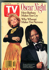 TV Guide March 19-25 1994 Whoopi Goldberg Barabara Walters EX 011916jhe2