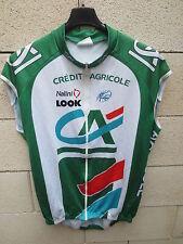 Veste / Maillot cycliste sans manche CREDIT AGRICOLE UCI PRO TOUR Look Nalini 7