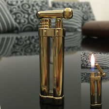 JOUGE Portable Mini Refillable Cigarette Cigar Pipe Cylinder Flint Wheel Lighter