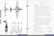 SHORT SEALAND SA.6 HISTORIC MANUAL RARE SEAPLANE flying boat 1950's Period