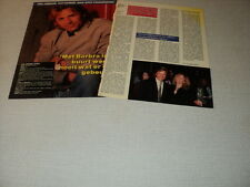 G104 DON JOHNSON BARBRA STREISAND '1988 DUTCH CLIPPING