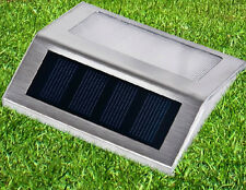 LED Solar Power Path Stair Outdoor Light Garden Yard Wall Landscape Lamp XIUS