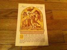 Second Sunday In Lent 1953 Church Of Incarnation Trenton New Jersey Program RARE