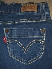 LEVIS 524 Too Superlow Skinny Stretch Denim Jeans Womens Size 3 x 29.5