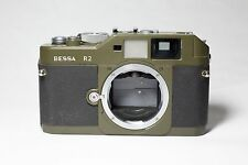 Voigtlander Bessa R2 Olive 35mm Rangefinder Camera Body *AS-IS*