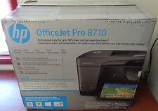 New Open Box HP Officejet Pro Wireless All in one Inkjet 8710 Printer