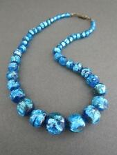 Vintage Murano Venetian Foil Glass Necklace