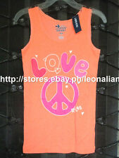 47% OFF! OLD NAVY GIRLS LOVE PEACE RULES GRAPHIC TANK TOP 10-12 YRS BNWT $9.94