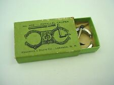 USA K&D Parallel Balance Truing Caliper No. 406 + bending tool NEW OLD STOCK