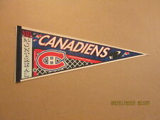NHL Montreal Canadiens Circa 1980's Hocket Net Pennant