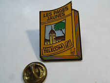 PIN'S LES PAGES JAUNES FRANCE TELECOM