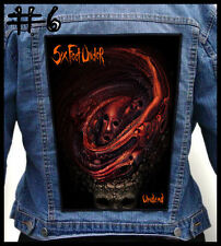SIX FEET UNDER   --- Huge Jacket Back Patch Backpatch --- Various Designs