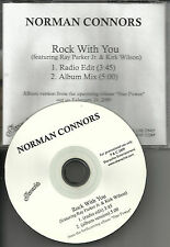 NORMAN CONNORS w/ RAY PARKER JR. Rock With you w/ RARE EDIT DJ PROMO CD Single